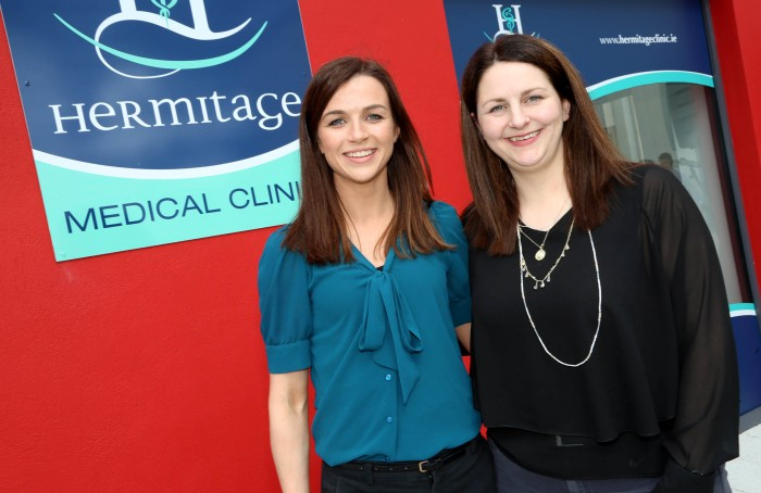 Maria Harney (Marketing Manager McGreals Group) and Orlagh Deegan (Choice Training & West Wicklow Business Network)